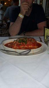 Our infant-sized lasagna