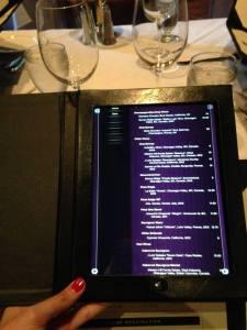 Hy's Steakhouse Drink Menu. Incredible wine list.