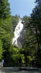 At Shannon Falls. Picture taken by me.