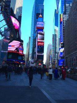 Times Square, photo taken by me.