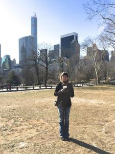 Freezing in Central Park