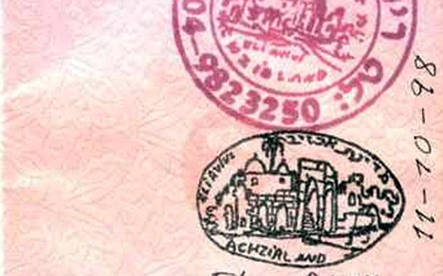 Passport stamp of Akhzivland